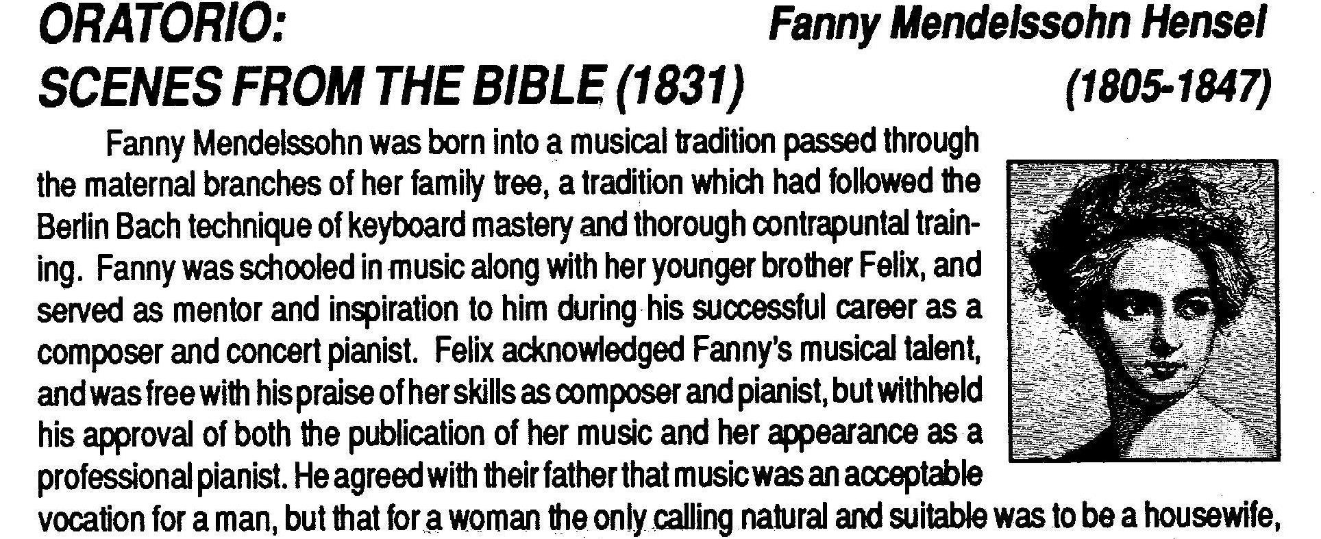 Excerpt from 1990 program note